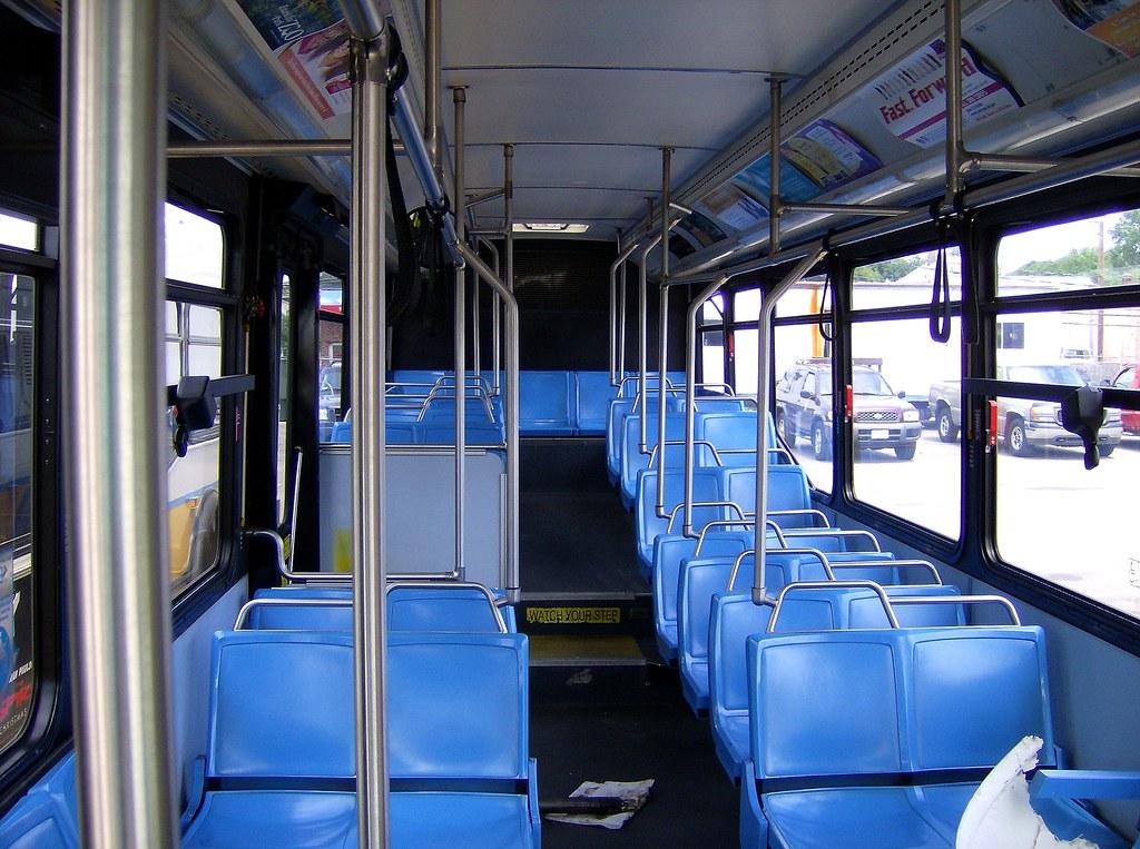 Mbta Nabi Cng Bus Interior The Uncomfortable Seats Of