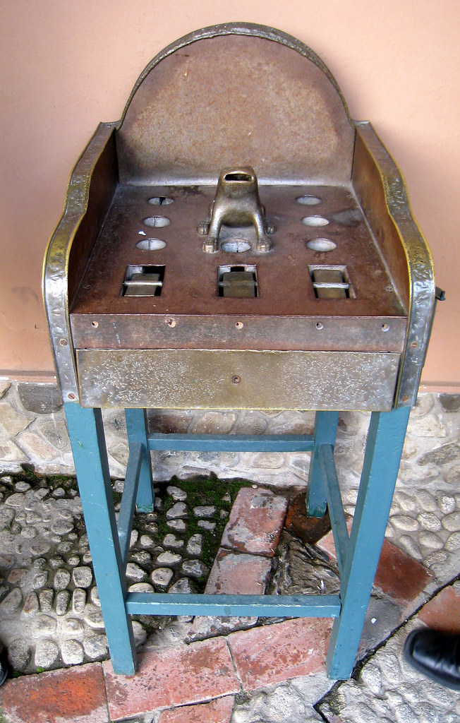 Juego Del Sapo In The Courtyard At The Museum This Is A