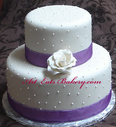Bridal Shower 2 Tier Cakes
