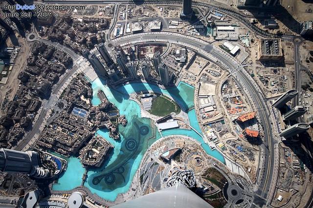 View from the Burj Khalifa, aka Burj Dubai | View from the ...