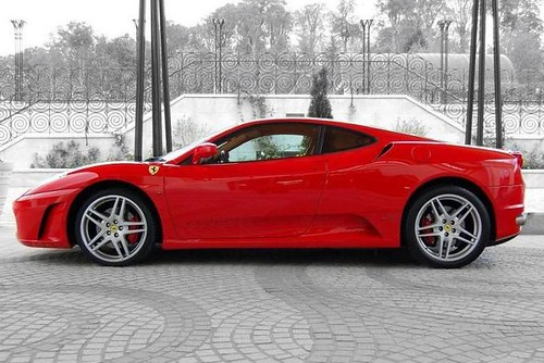 Ferrari-F430-side-view | The Ferrari F430 in red, side ...
