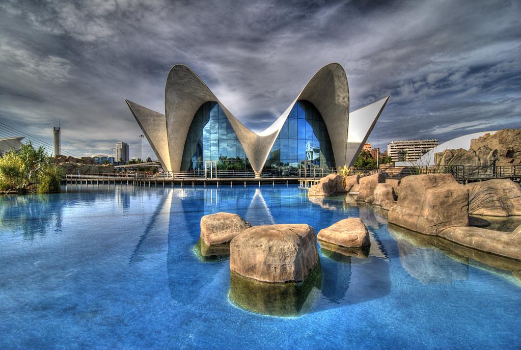 L Oceanografic Valencia Spain L Oceanografic Is The