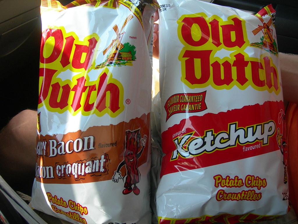 Unique Potato Chip Flavors The Bacon Flavored Chips