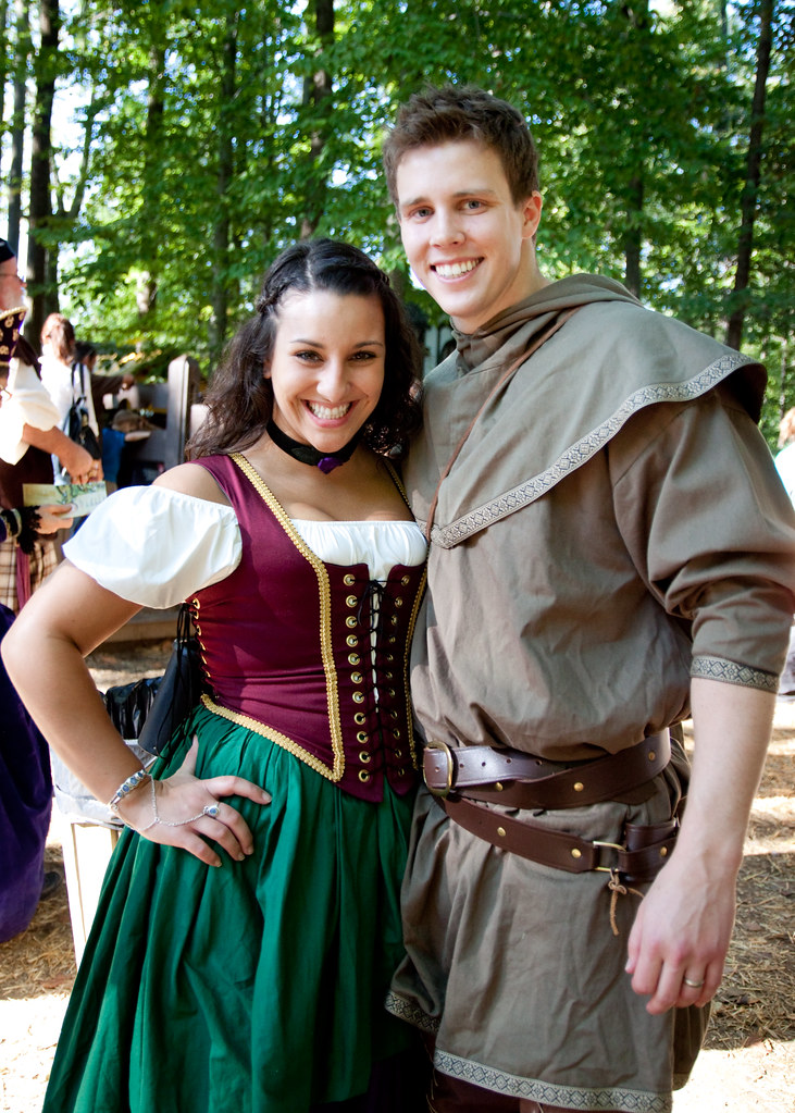 Peasant Couple Maryland Renaissance Festival 2010 Flickr