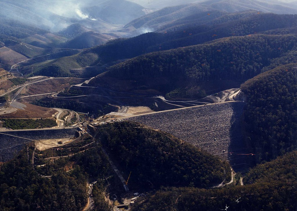 Thomson Dam Construction 5 The Thomson Dam Is