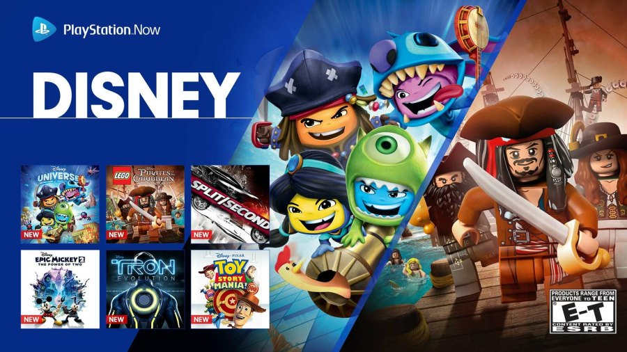 17 Disney games join PlayStation Now today   PlayStation Blog Europe Suit up as your favourite character in Disney Universe  a multiplayer  adventure where iconic Disney characters and legendary Disney worlds  collide