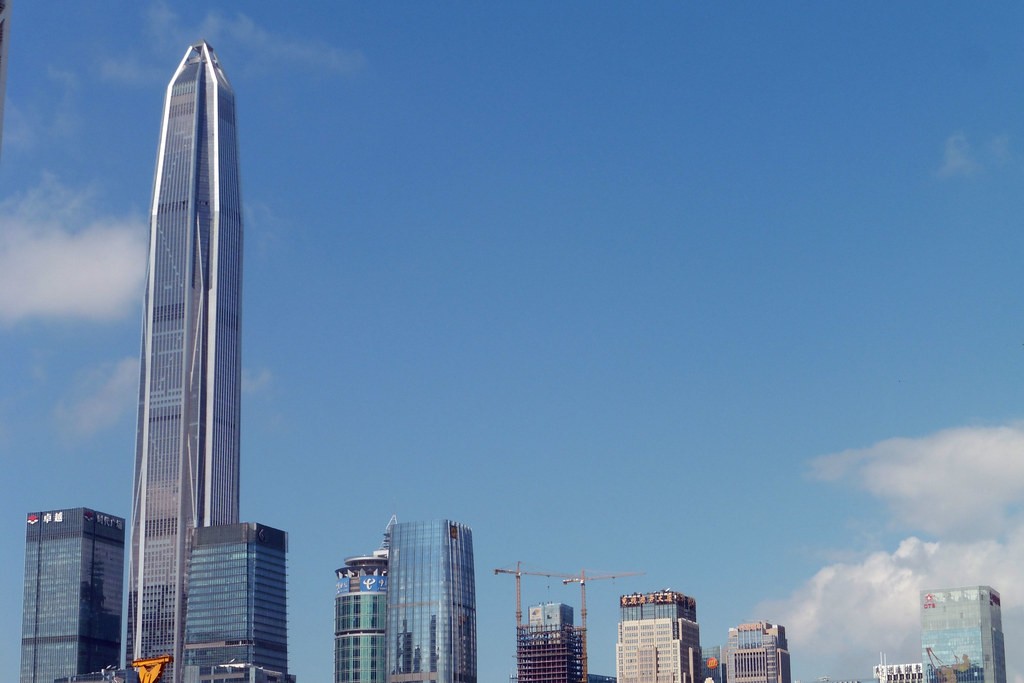 Ping An Finance Centre Shenzhen City China Chris Flickr