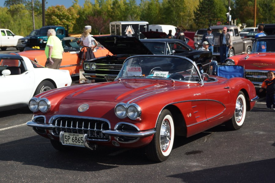 1960 chevrolet cars » 1960 Chevrolet Corvette   Norhern Lights Car Show 3rd Annual      Flickr 1960 Chevrolet Corvette   by DVS1mn 1960 Chevrolet Corvette   by DVS1mn