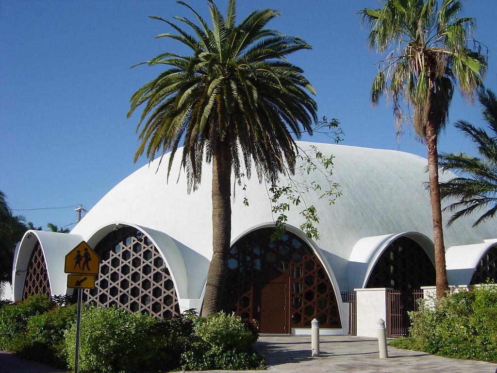 Temple Beth Sholom Miami Beach A Mid Century Dome