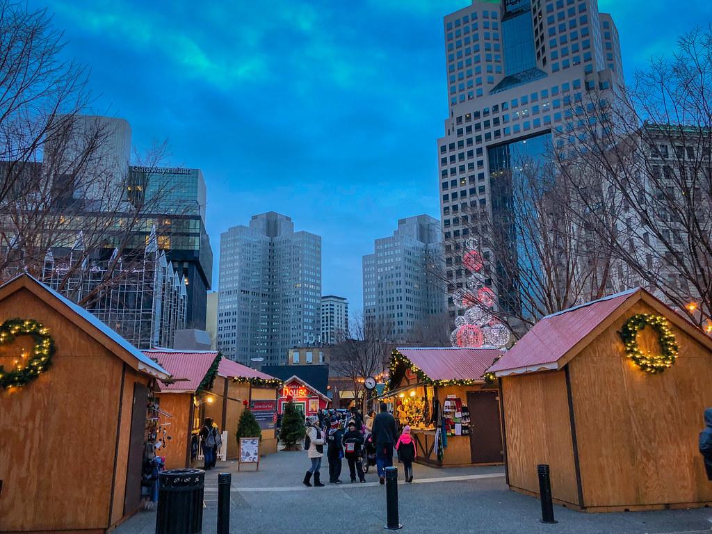 Christmas Market Square Pittsburgh Pa