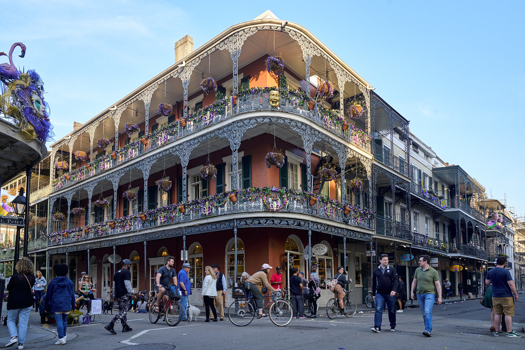 Map New Orleans Quarter