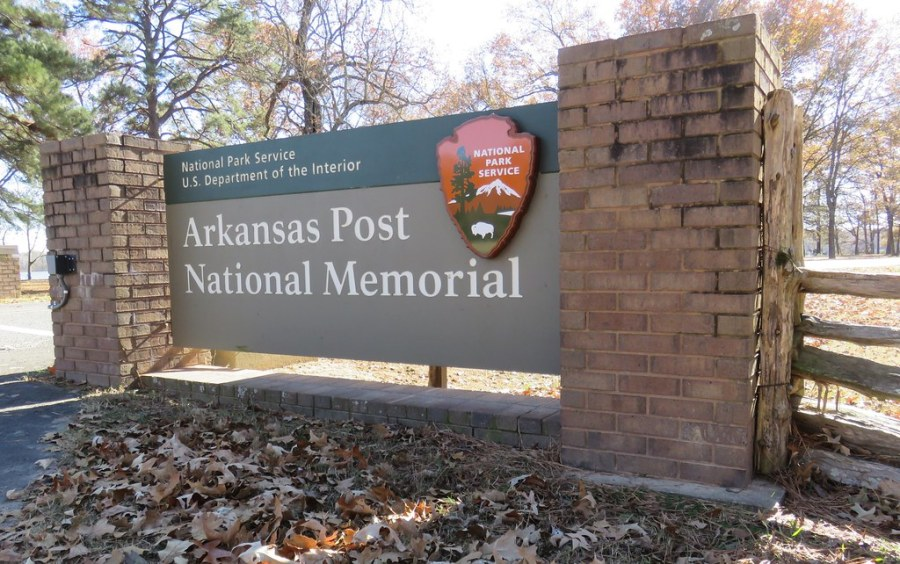 Arkansas Post National Memorial Sign  Arkansas County  Ark      Flickr     Arkansas Post National Memorial Sign  Arkansas County  Arkansas    by  courthouselover