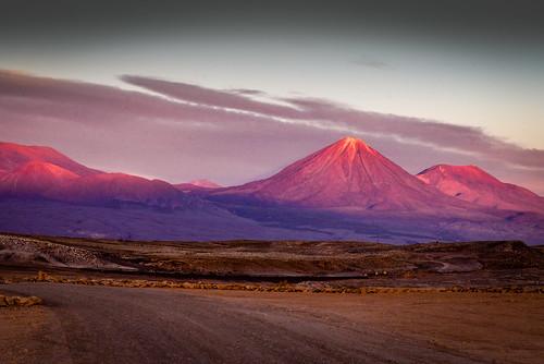 The Purple Headed Mountain Sunset In The Atacama Desert Flickr
