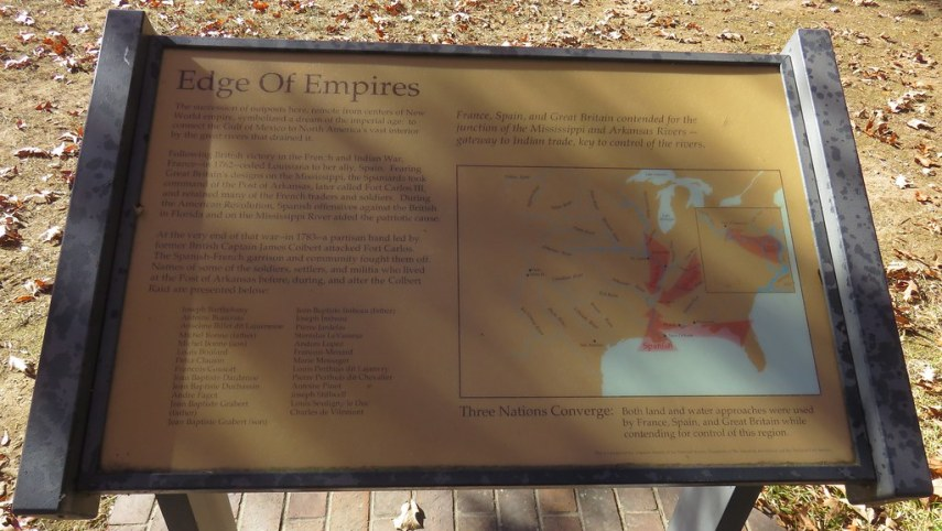 Edge of Empires Marker  Arkansas Post National Memorial  A      Flickr     Edge of Empires Marker  Arkansas Post National Memorial  Arkansas    by  courthouselover