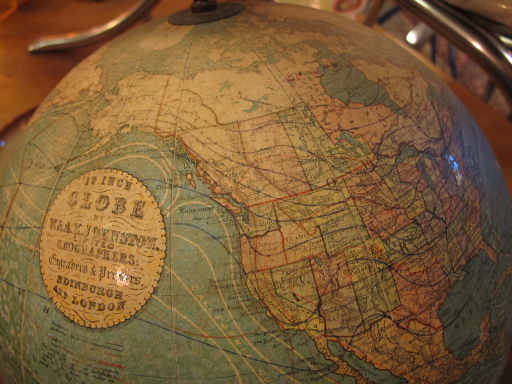 1910 Globe   I found this in Fremont at a vintage store  alo      Flickr     1910 Globe   by Shayne Kaye