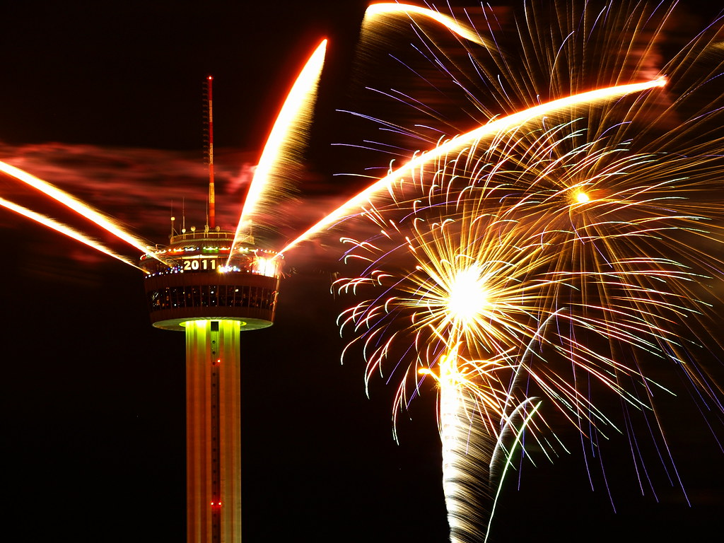 Happy New Year San Antonio    Celebrate San Antonio rings in      Flickr by sarider1 Happy New Year San Antonio    by sarider1