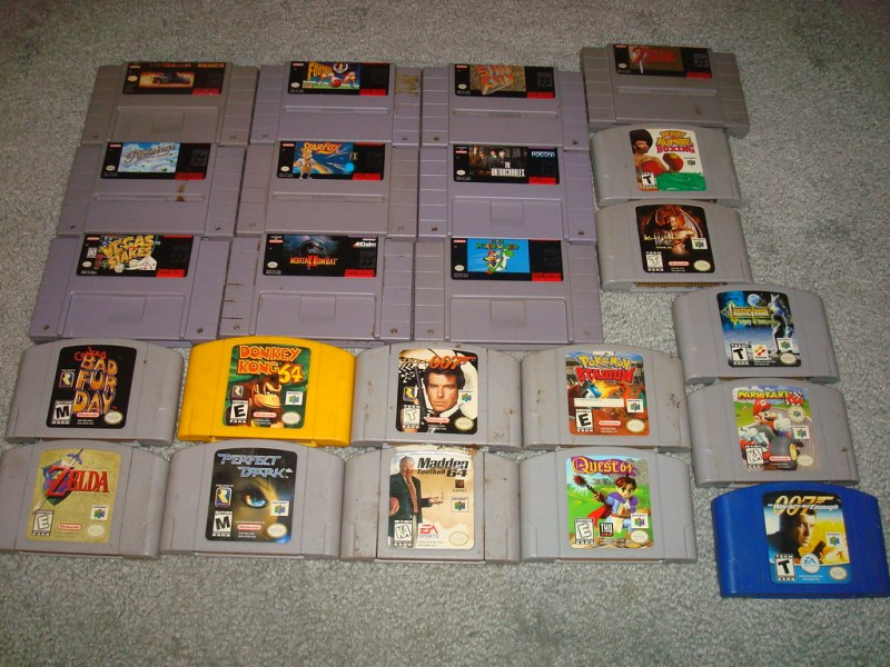 SNES AND N64 GAMES   N64 and SNES games  poop stains and all      Flickr     SNES AND N64 GAMES   by The Wisest Wizards