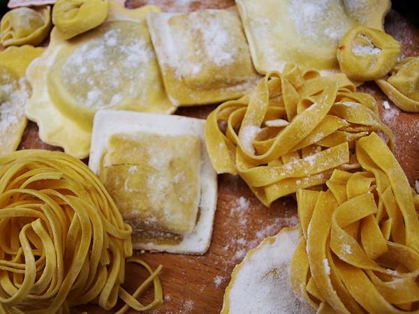 Fresh Italian Pasta Freshly Made Pasta Tastes A Little