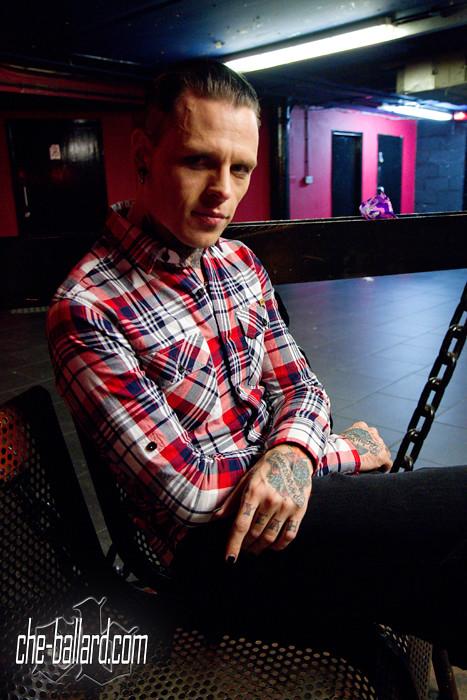 Combichrist S Andy Laplegua I Met Up With Andy Laplegua