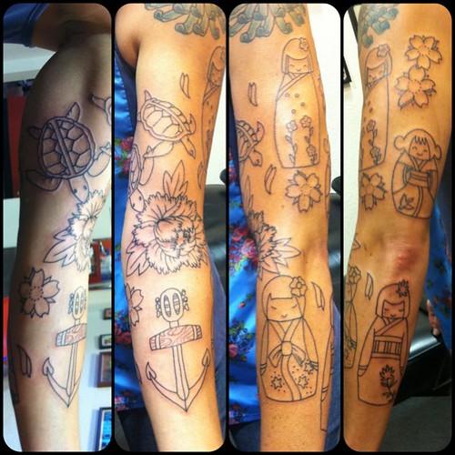 #random family memorial #sleeve #tattoo #tattoos #fun | Flickr