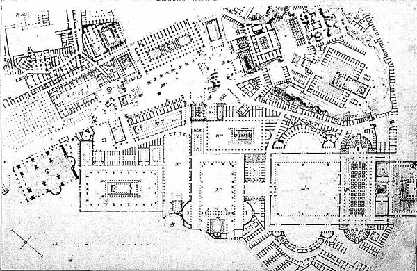 Forum Romanum (plan) | Other title: Roman Forum (Rome ...