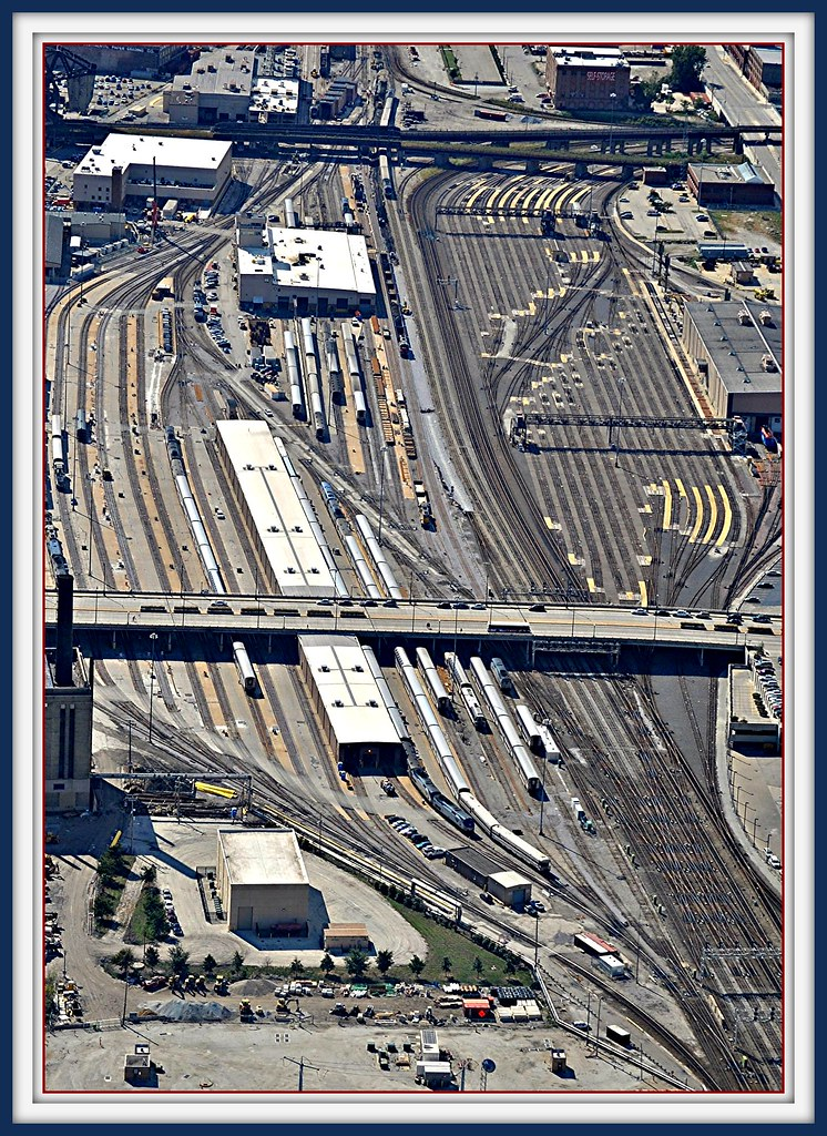 Amtrak 14th Street Coach Yard Amp Maintainence Facility View