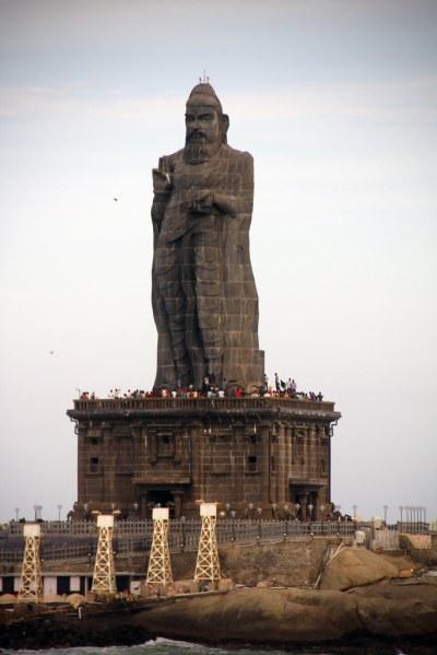 Thiruvalluvar Statue - Kanyakumari | The Thiruvalluvar ...