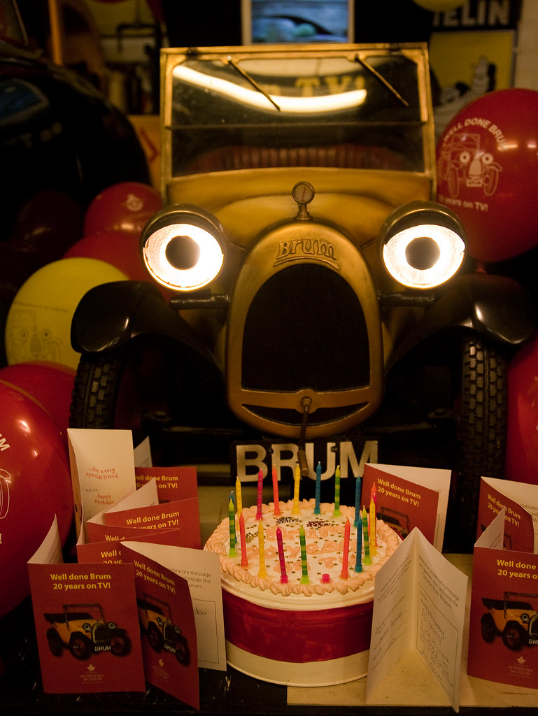 Happy Birthday Brum Bourton On The Water Motor Museum