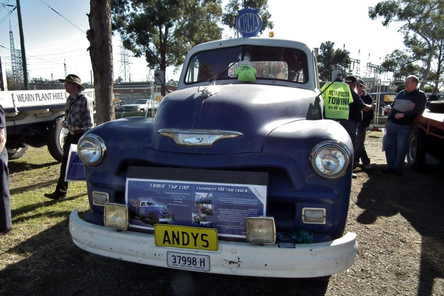 1954 chevrolet cars » 1952 Chevrolet 1100 tow truck   1952 Chevrolet 1100 NRMA tow      Flickr     1952 Chevrolet 1100 tow truck   by sv1ambo