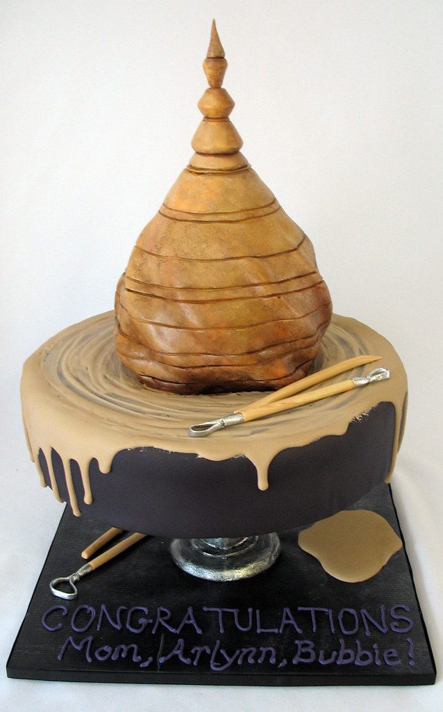 Pottery Cake A Birthday Cake For A Potter This Is An