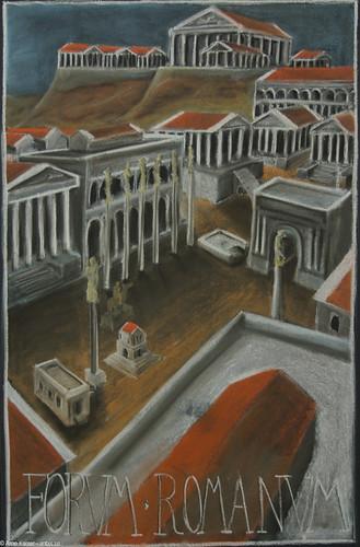 Forum Romanum   Roman History Grade 6, Pine Forest School ...