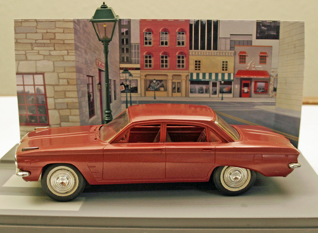 1961 Pontiac Tempest 4 Door Sedan Promo Model Car   Dawnfi      Flickr     1961 Pontiac Tempest 4 Door Sedan Promo Model Car   Dawnfire Mist Poly    by coconv