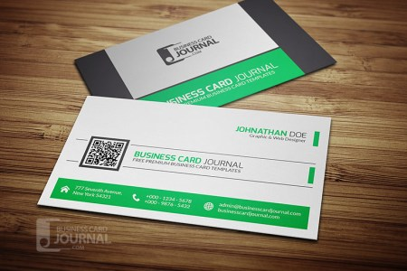 Refreshing Green QR Code Business Card Template   Download           Flickr     Refreshing Green QR Code Business Card Template   by Meng Loong