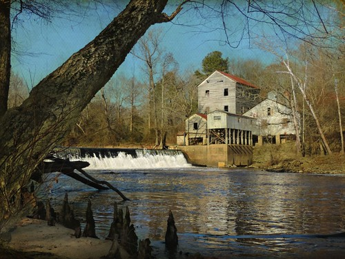 Historic Webb S Mill On The Tar River West Of Spring Hope