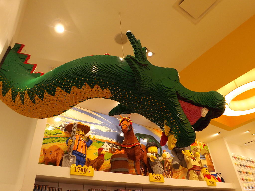 Lego Dragon  Lego Structures  Lego Fifth Avenue Store  New      Flickr     Lego Dragon  Lego Structures  Lego Fifth Avenue Store  New York City    by