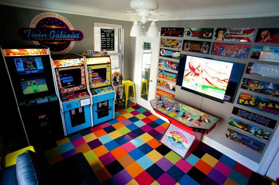 Chris Kooluris s retro gaming Manhattan bedroom   killer kitsch   Flickr     Chris Kooluris s retro gaming Manhattan bedroom   by killer kitsch
