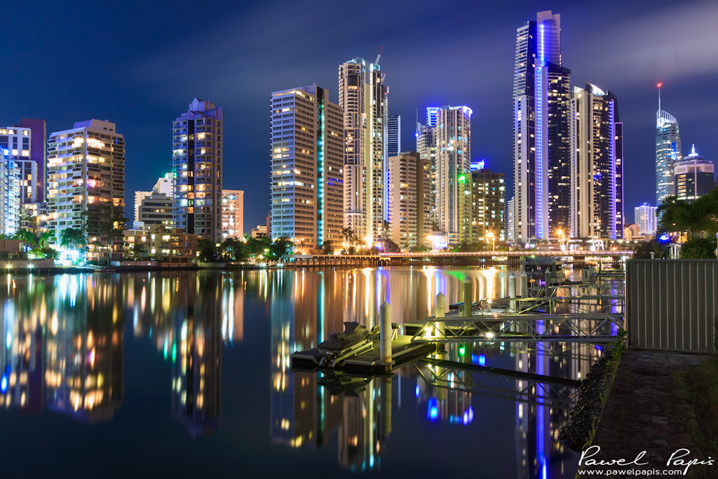 Gold Coast At Night Win A Free Print Please Visit My