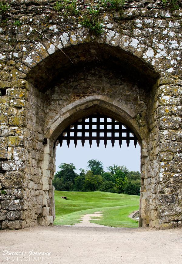 Leeds Castle Portcullis Dineshraj Goomany Flickr