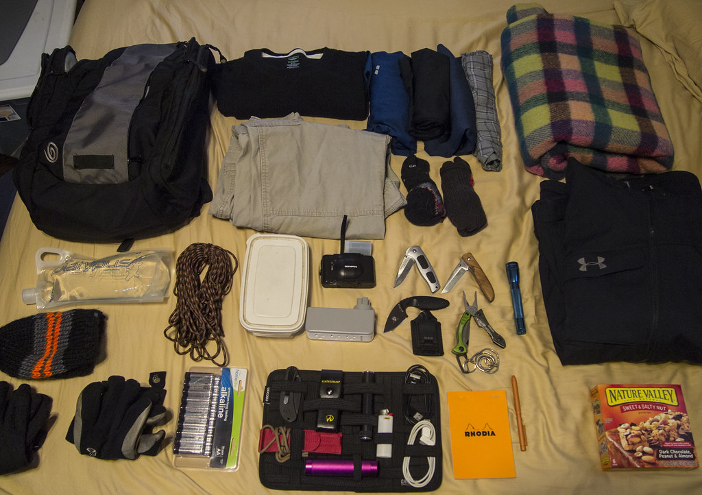My Go Bag My Quot Go Bag Quot Which Is Kept In The Trunk Of My