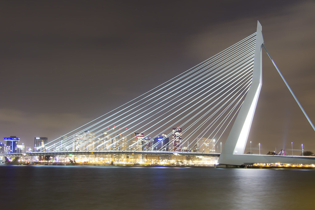Erasmus Bridge Rotterdam Luke Price Flickr