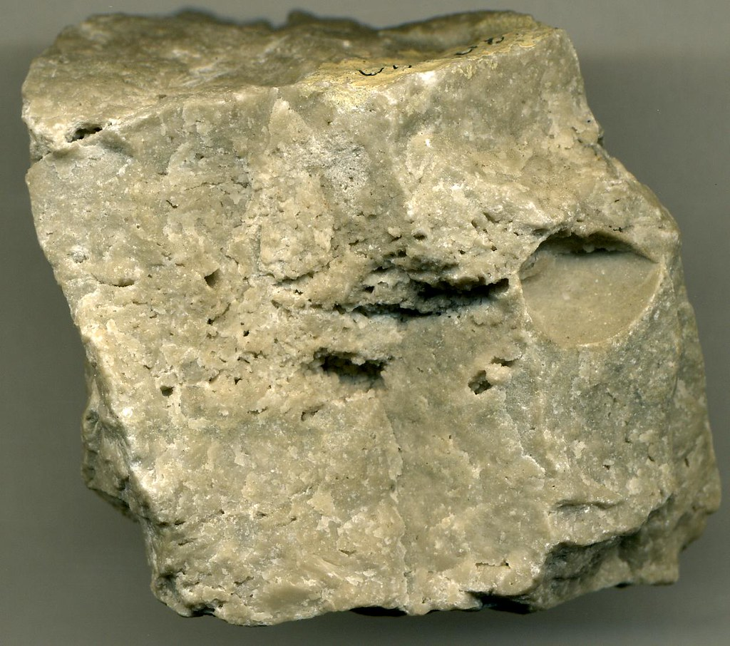 Dolostone Of Silurian Age With Vuggy Porosity Vuggy