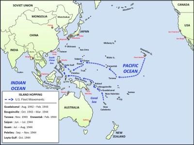 WW2 - Island Hopping Map | Patrick Gray | Flickr