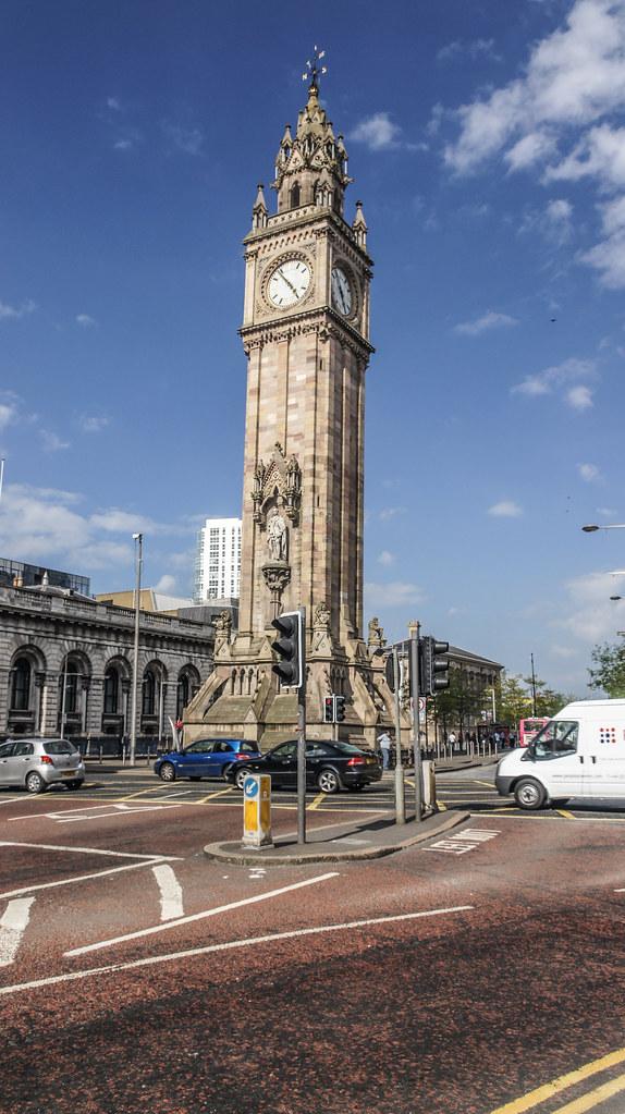 Albert Memorial Clock Belfast The Sandstone Memorial