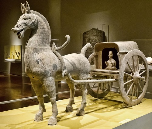 Horse And Carriage Eastern Han Dynasty Sichuan Province Ch Flickr