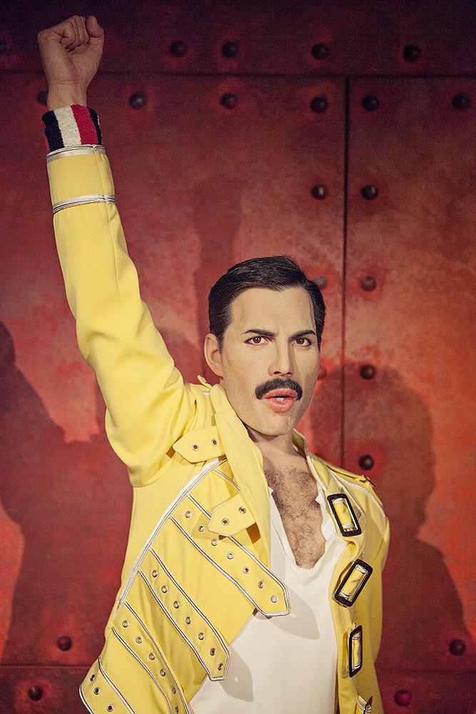 Freddie Mercury Portrait Copyright 169 Chris Bailey