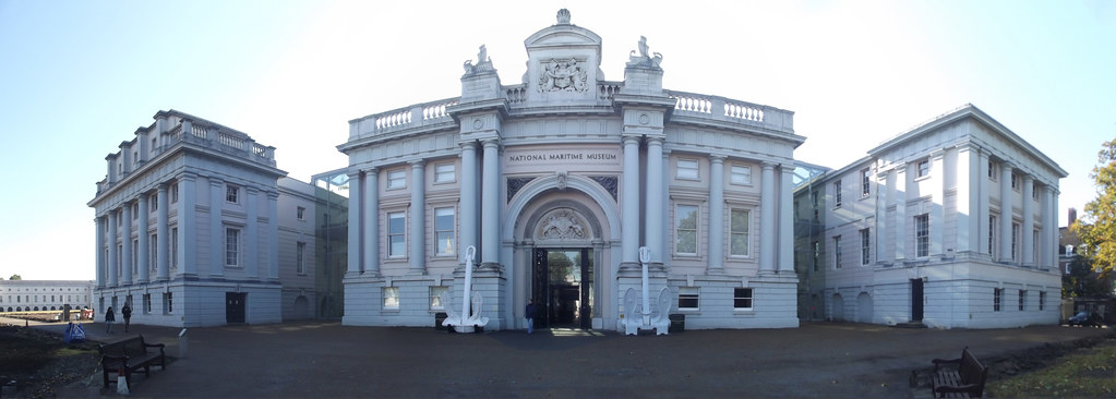 National Maritime Museum Greenwich Panoramic This Is