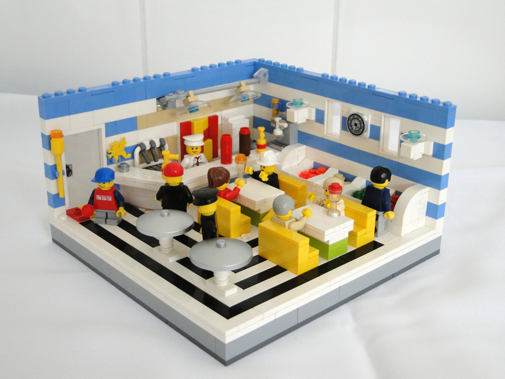 Lego Ice Cream Shop   Feel free to comment  Hope you like it     Lego Ice Cream Shop   by Pedro H