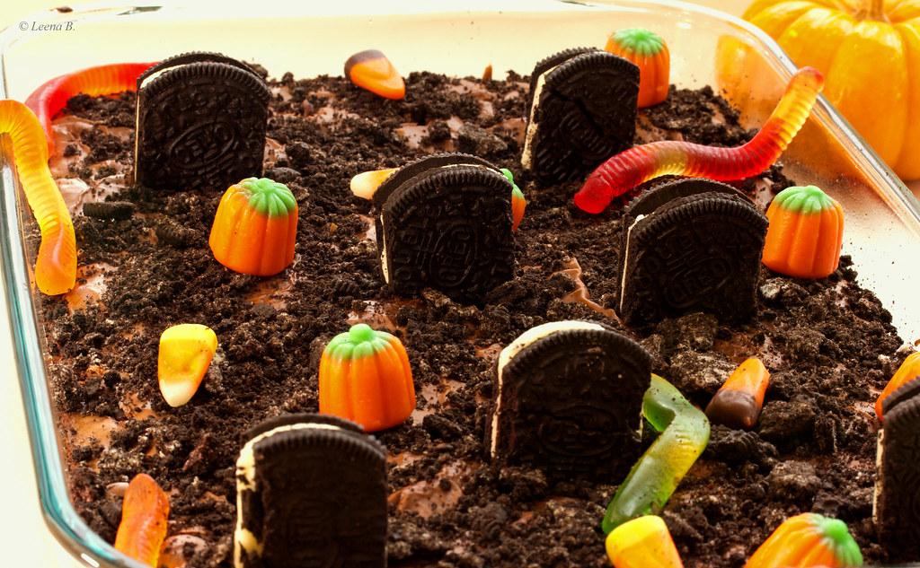 Graveyard Brownie Ingredients 1 Two Boxes Ghirardelli