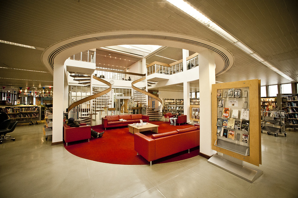 Swiss Cottage Library Swiss Cottage Library Designed By S Flickr