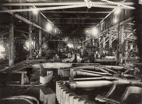Australian Factory In The Early 1900s Inside An